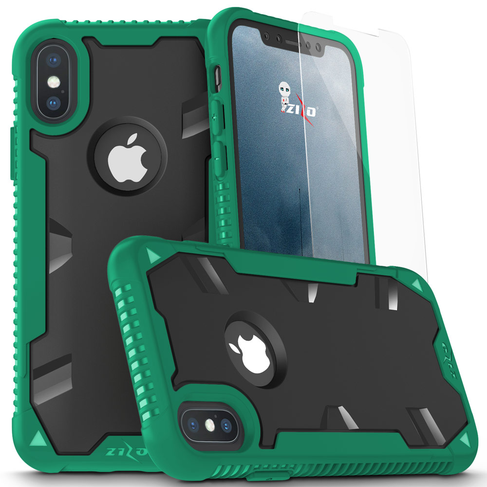GREEN IPHONE X PROTON CASE