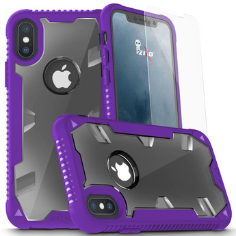 PURPLE IPHONE X PROTON CASE