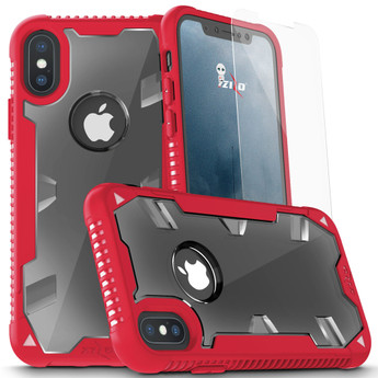 RED IPHONE X PROTON CASE