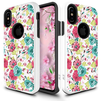 IPHONE X SLEEK FLOWERS CASE