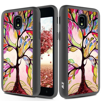 For Samsung Galaxy Amp Prime 3 - SLEEK HYBRID Design Cover w