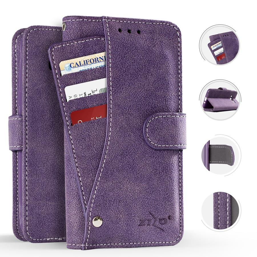 PURPLE POCKET WALLET IPHONE 7