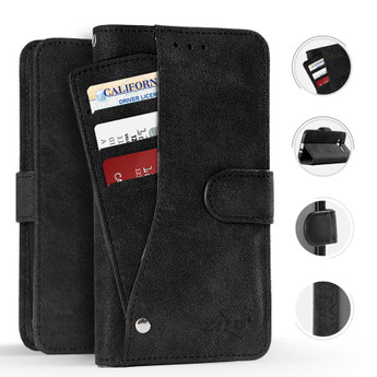 ZTE PRESTIGE 2 BLACK WALLET CASE