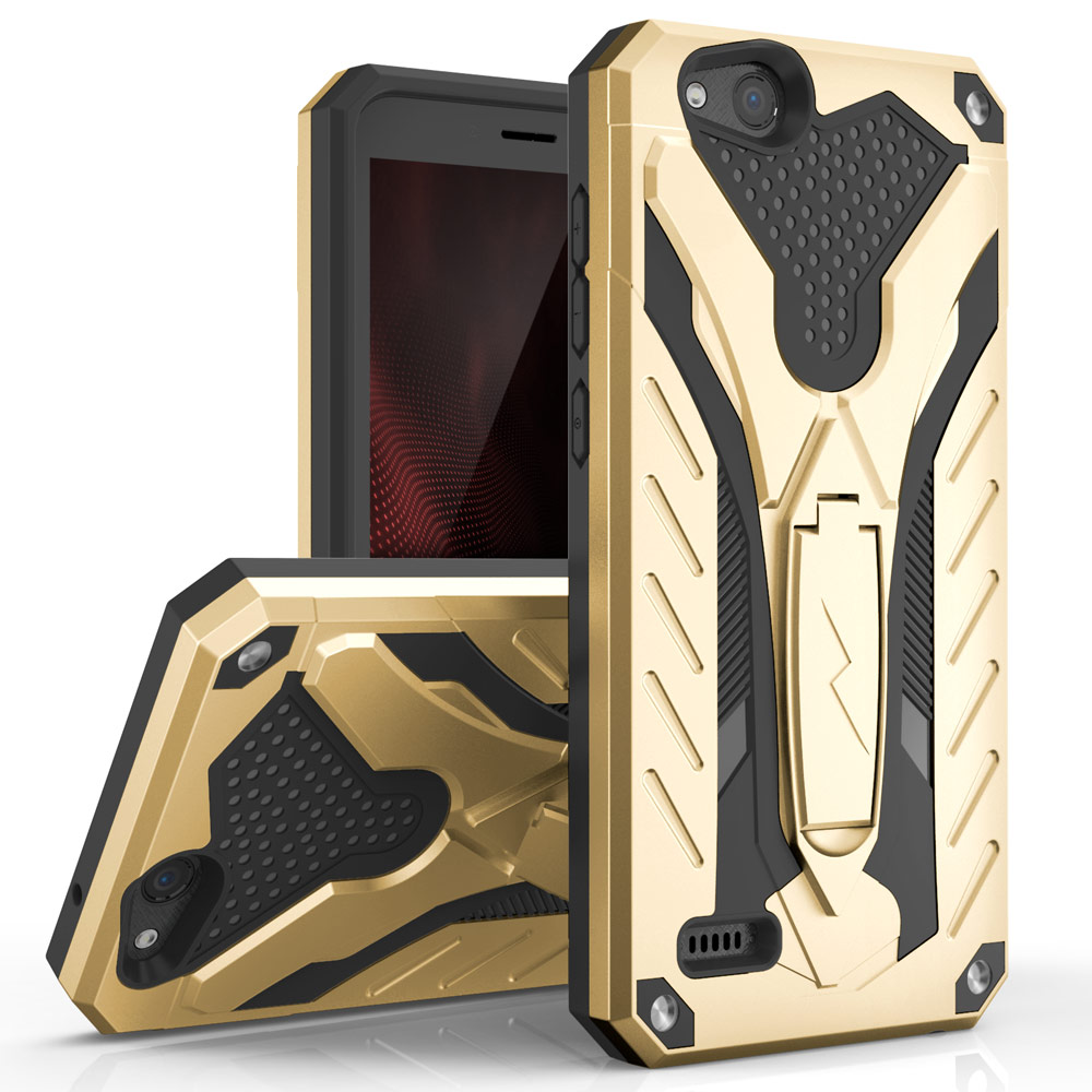 STATIC ZTE TEMPO X CASE GOLD/BLACK