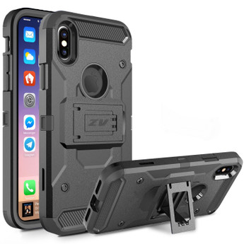 TOUGH ARMOR BLACK IPHONE X CASE