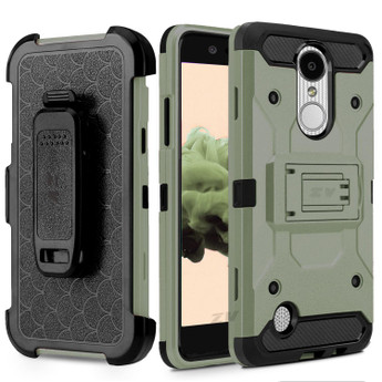 ARMY GREEN TRIBUTE TOUGH ARMOR CASE