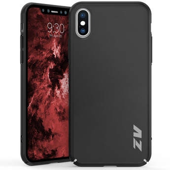 IPHONE X THIN MATTE CASE BLACK