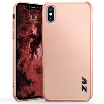 IPHONE X THIN MATTE CASE ROSE GOLD