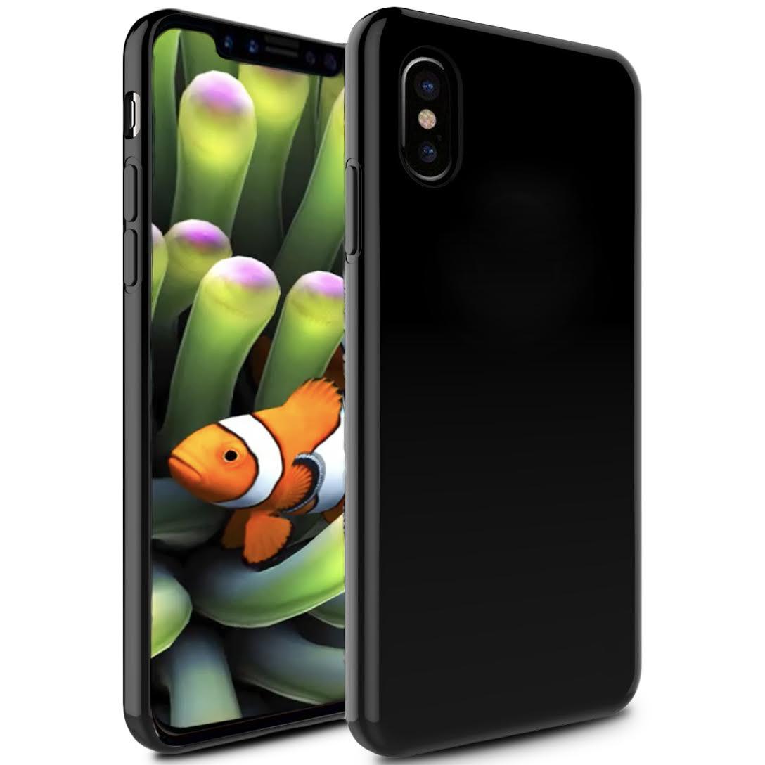 APPLE IPHONE X TPU COVER BLACK