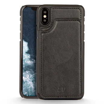 IPHONE X WALLET CASE BLACK