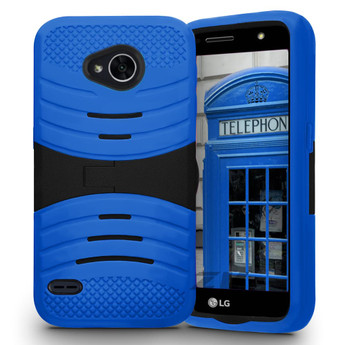 LG X CHARGE CASE BLUE
