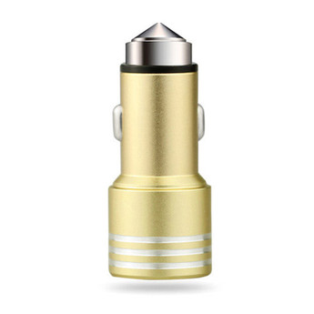 USB CAR CHARGER GOLD