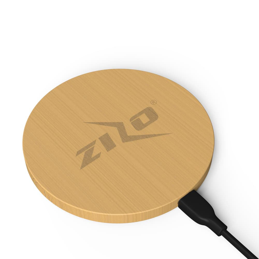 ZIZOCHARGE BAMBOO WIRELESS CHARGER