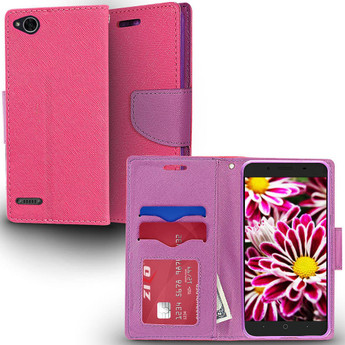 ZIZO WALLET CASE PINK AND PURPLE