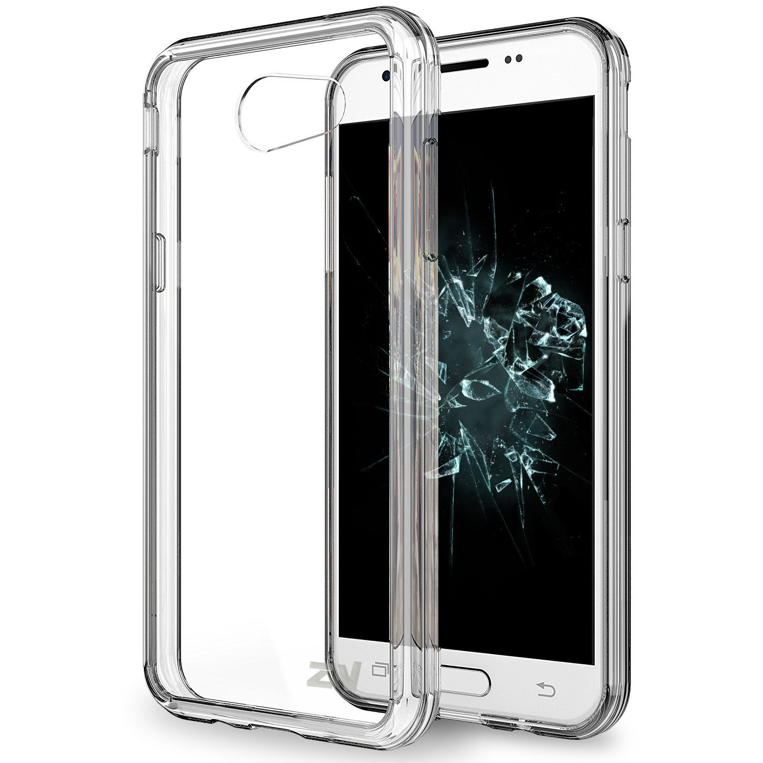 PC+TPU Series for Galaxy J3 Emerge / J3 Prime / Amp Prime 2 Case - Thin and Lightweight with Heavy Duty Protection Shockproof and Slim Dual Layer