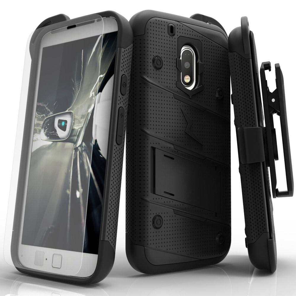 ZIZO BOLT Series Moto G4 Plus Moto G4 Case
