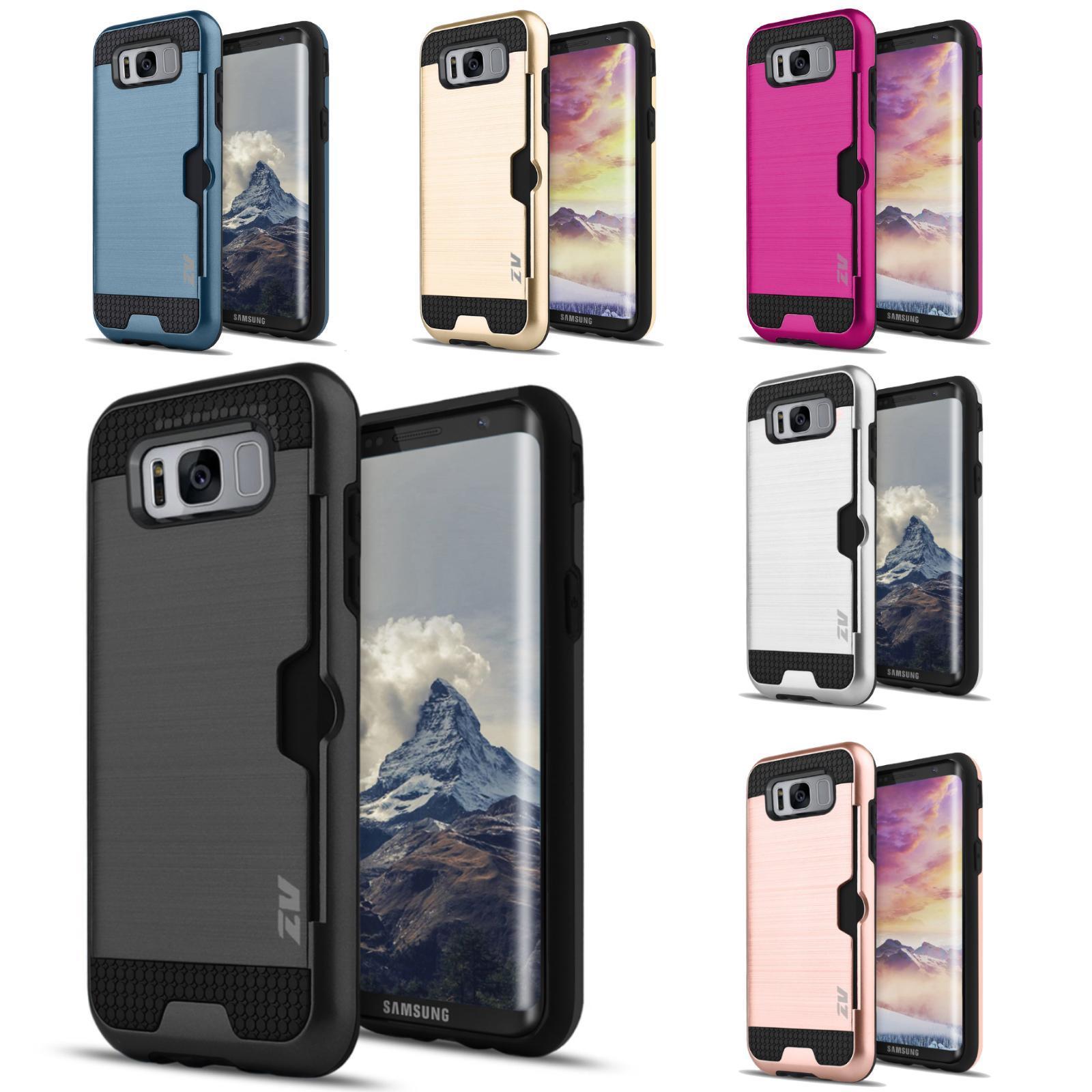 Metallic Hybrid Samsung Galaxy S8 Plus Case