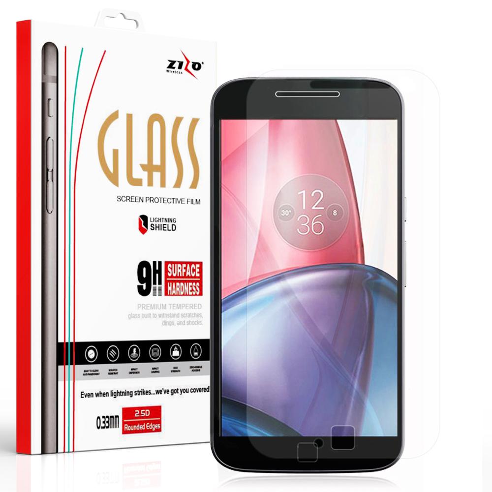 Lightning Shield Motorola G4 Play Tempered Glass Screen Protector