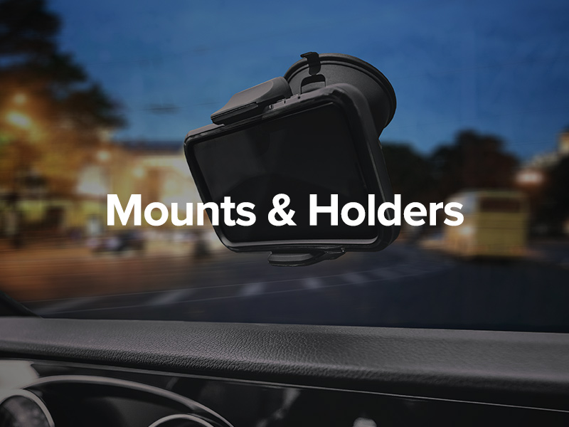 MOUNTS AND HOLDERS
