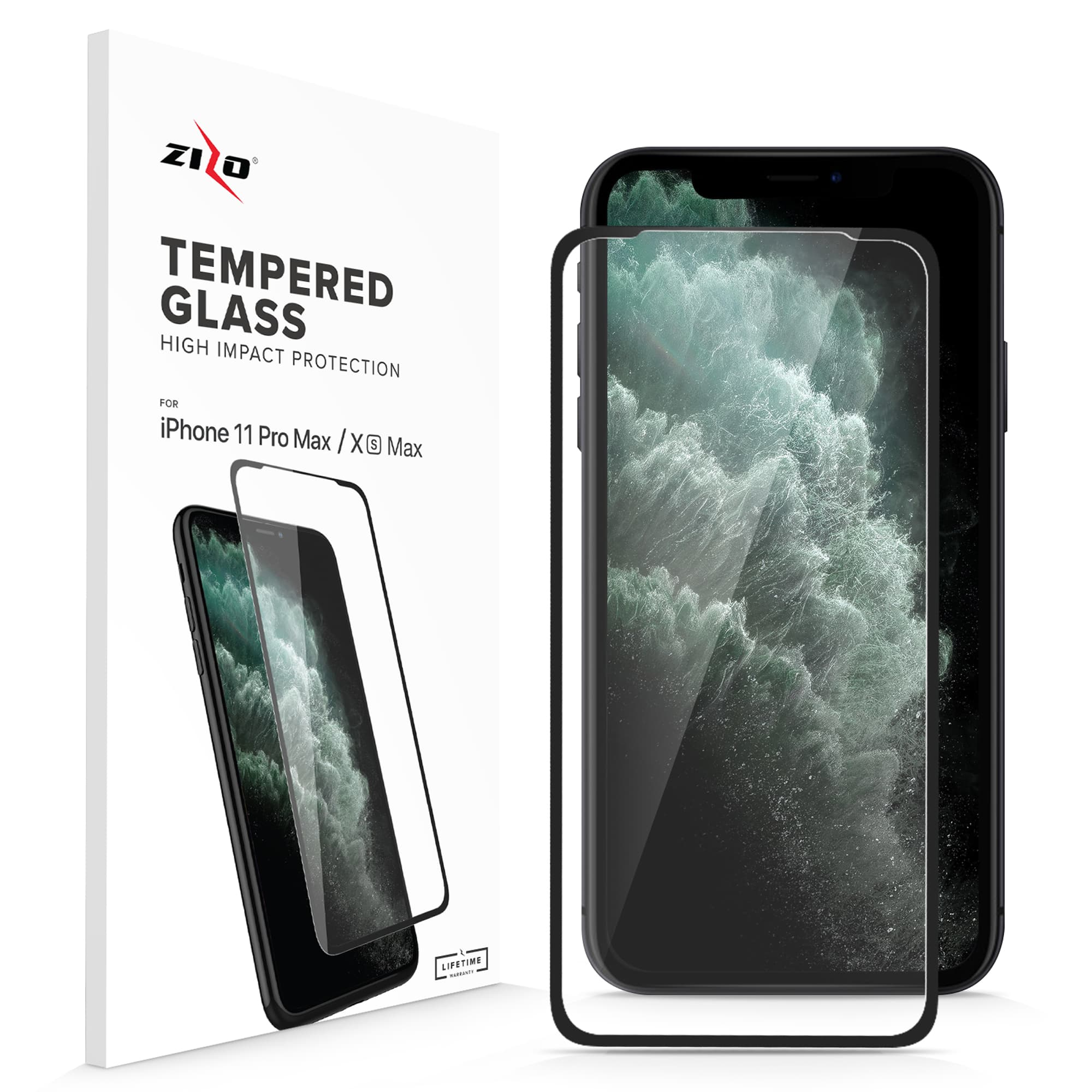 Full Glue Glass iPhone 11 Pro Max / XS Max Tempered Glass Screen Protector