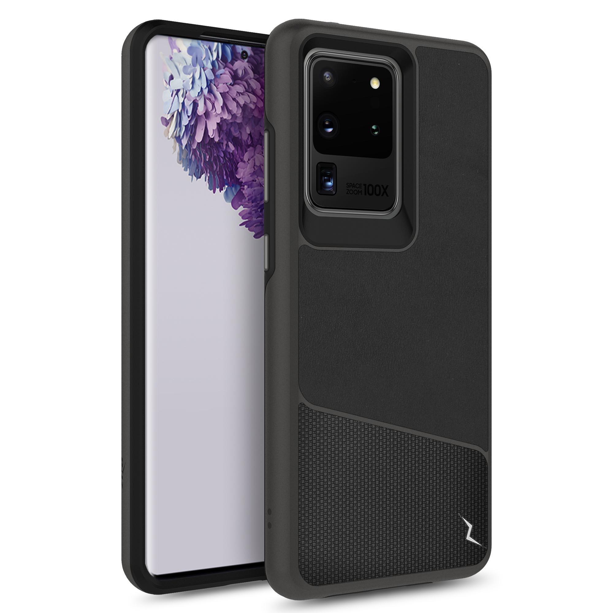 ZIZO DIVISION Series Galaxy S20 Ultra Case - Nylon Black