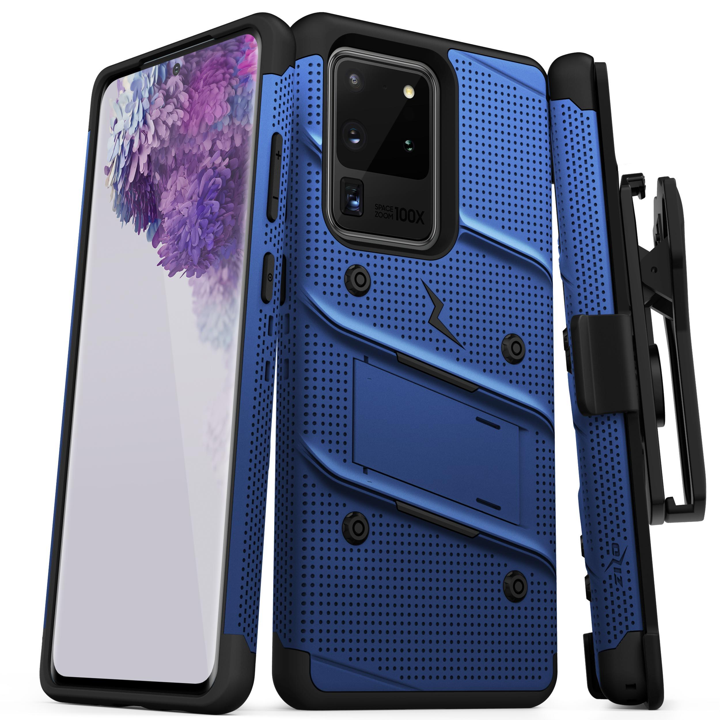 ZIZO BOLT Series Galaxy S20 Ultra Case - Blue