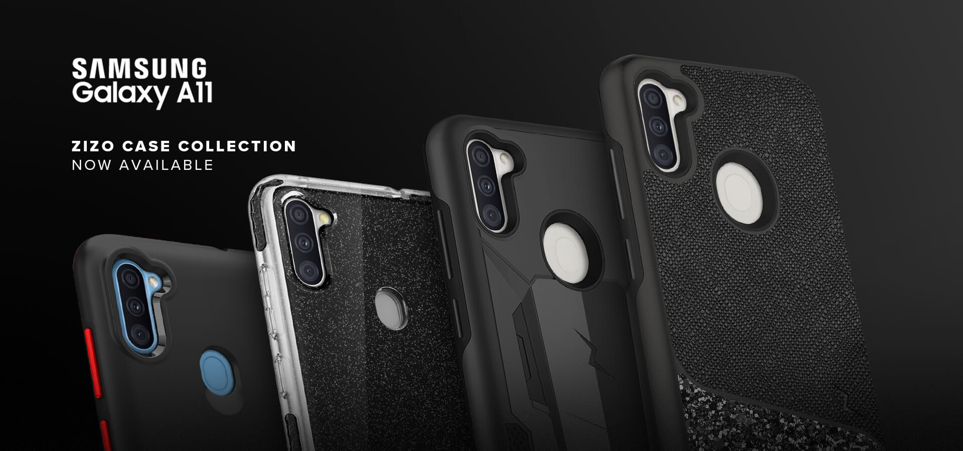 New Samsung Galaxy A11 Cases from ZIZO Wireless