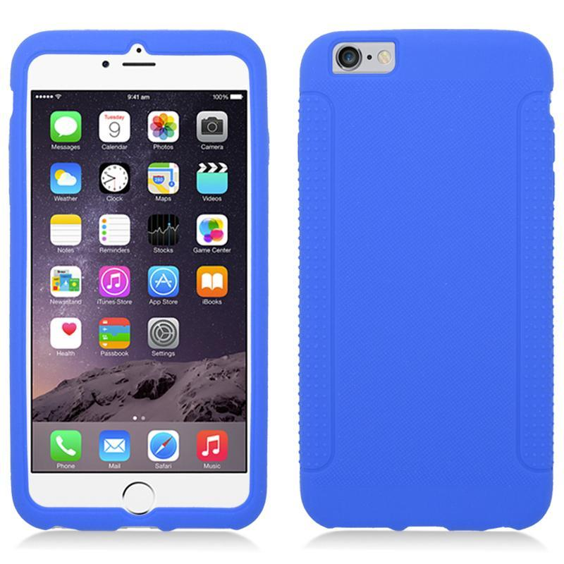 Zizo Silicon Skin for iPhone 6 Plus / 6s Plus Case - Simple Ultra Thin Slim Fit with Anti Slip Grip Protection Lightweight Shockproof Protective