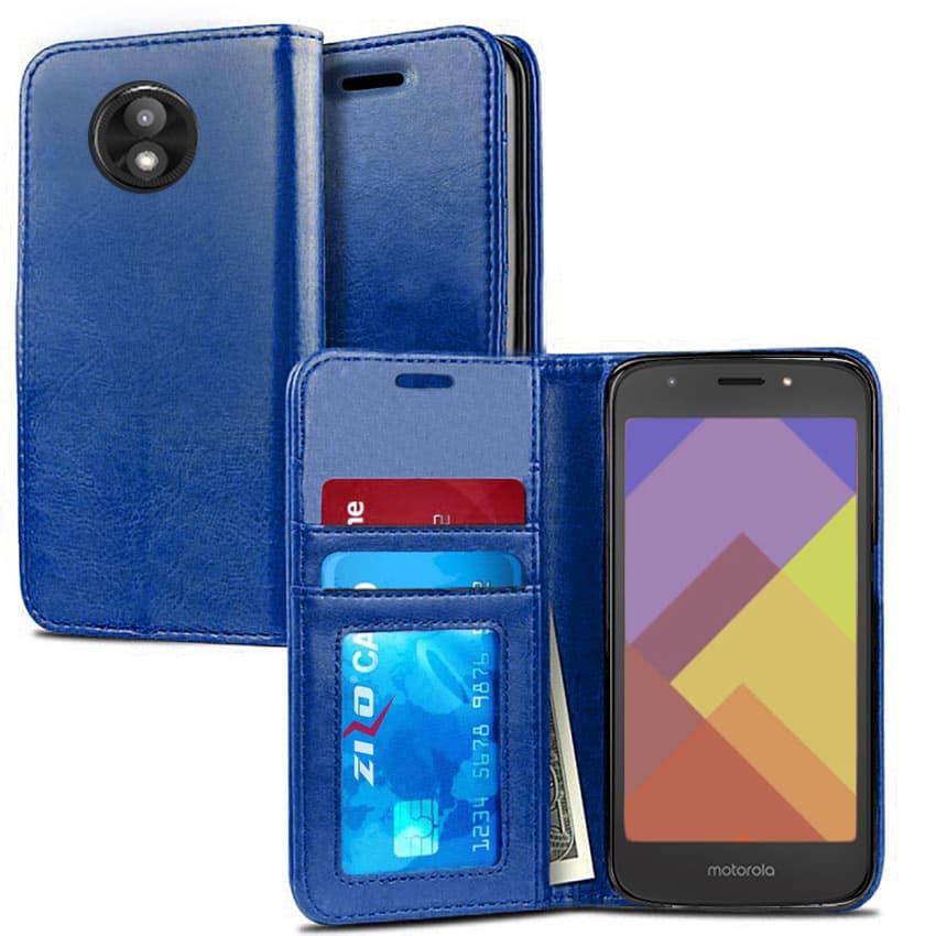 Wallet Pouch Moto E5 Cruise / E5 Play Case By ZV